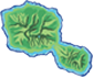 Map of The Island of Tahiti tahiti flight deals New Zealand and Tahiti Flight Deals tahitiMap