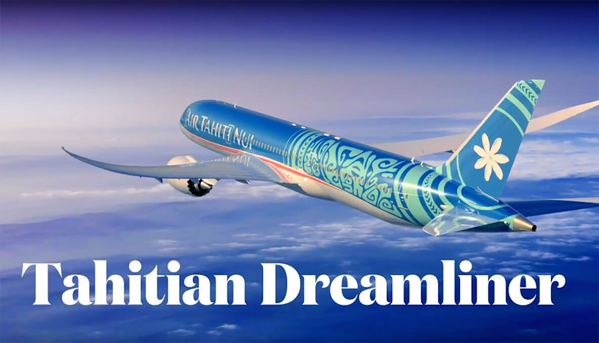 The Tahitian Dreamliner
