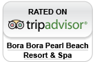 Bora Bora Pearl Rated on Trip Advisor