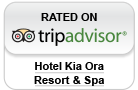 Hotel Kia Ora Resort Rated on Trip Advisor