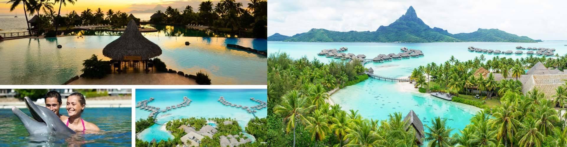3 Islands of Tahiti Luxury Combo