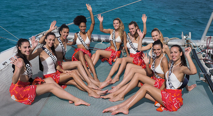 Election Miss France 2020, Voyage à Tahiti
